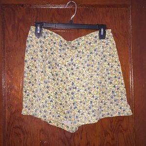Loose floral shorts from Forever 21